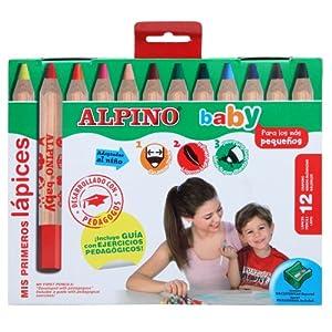 Alpino AL000177 – Estuche 12 lápices