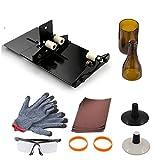 Bottiglia di vino cutting Tool kit, Anzome vetrate cutting Tool kit vino Jar acquaforte per DIY vetreria W/occhiali protettivi guanto
