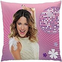 Disney Fairies 042611 Kissen Violette F/üllung Polyester Bezug Baumwolle 40 x 40 cm