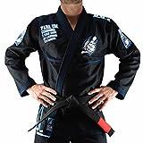 Bõa Herren Kimono Armor De Competição Bjj Gi, Schwarz, A2