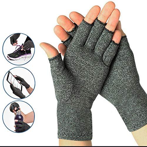 ECMQS 1 Paar Arthritis Handschuhe Für Herren Damen, Arthritis Kompressions-Handschuhe Gloves Wirkt Schmerlindernd Bei Rheumatoide, Karpaltunnel Für Computer-Typisierung Arbeit -