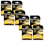 Duracell Spezialtyp LR44Alkaline-Knopfzelle, 2Stück Pack of 16
