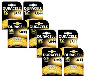 Duracell Specialty Type LR44 Alkaline Coin Batteries: Amazon.co.uk: Electronics