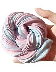 Jouets de décompression Fluffy Floam, Manadlian Pelucheux Floam Slime de soulagement de stress parfumé pas de borax enfants jouet boue jouet