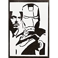 Iron Man The Avengers Handmade Street Art - Artwork - Poster