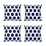 Best Linen Store Furniture Couches - Throw Pillow Covers 4 Pack FanHomcy Navy Blue Review