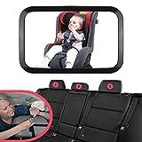 Starcrafter Baby Auto Spiegel Easy View 360°Einstellbare Sicherheit Rückspiegel für Babyschalen...