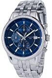 Accurist Men's Quartz Watch With Blue Dial Chronograph Display And Stainless Steel Bracelet MB935N