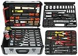 Famex 723-47 Mechaniker Werkzeugkoffer Komplettset, 130/170-teilig