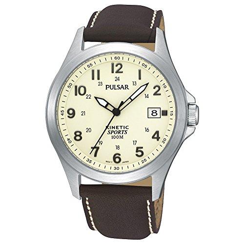 Pulsar PAR167X1 - Herren-Armbanduhr, Armband aus Edelstahl