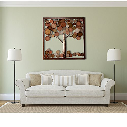 Large Tree of Life Unique Design Metal Wall Art Sculpture Wall Decor and Hanging