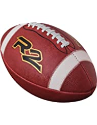 Rawlings R2 Leather Football Official, Brown by Rawlings Sporting Goods