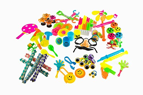BIEE, Party Favors für Kinder Goodie Bags - 120 PC Partyzubehör Massenspielzeug-Pack für Geburtstag Goodie Taschen Geburtstag Party Favors Classroom Treasure Box Preise