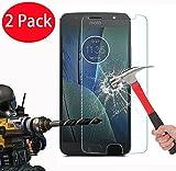 FoneExpert® 2 Pack - Moto G5S Plus Panzerglas, Gehärtetem Schutzfolie Glasfolie Hartglas Panzerfolie Displayschutzfolie für Motorola Moto G5S Plus