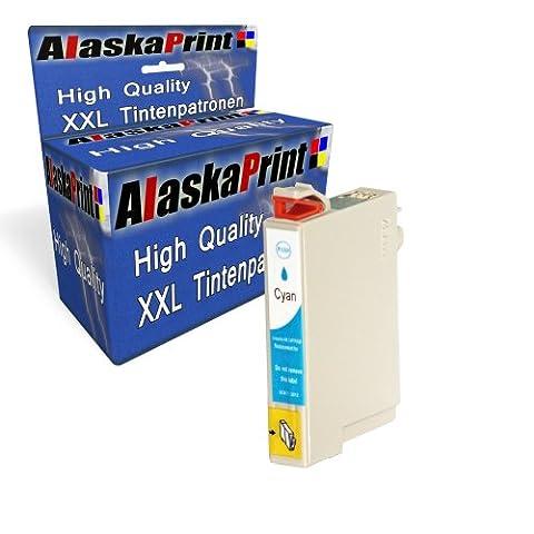 Premium Druckerpatrone Kompatibel für Epson T0712 XL Cyan Blau für Epson Stylus D120 D78 D92 DX4000 DX4050 DX4400 DX4450 DX5000 DX5050 DX5500 DX6000 DX6000 DX6050 DX7000F DX7400 DX7450 DX8400 DX8450 DX9200 DX9400F S20 S21 SX100 SX105 SX110 SX115 SX200 SX205 SX210 SX215 SX218 SX400 SX400WiFi SX405 SX405WiFi SX410 SX415 SX417 SX510W SX515W SX600FW SX610FW Office B40W BX300F BX310FN BX510W BX600FW BX610FW