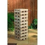 Kingfisher GA001 Giant Tower Blocks Game - Wood