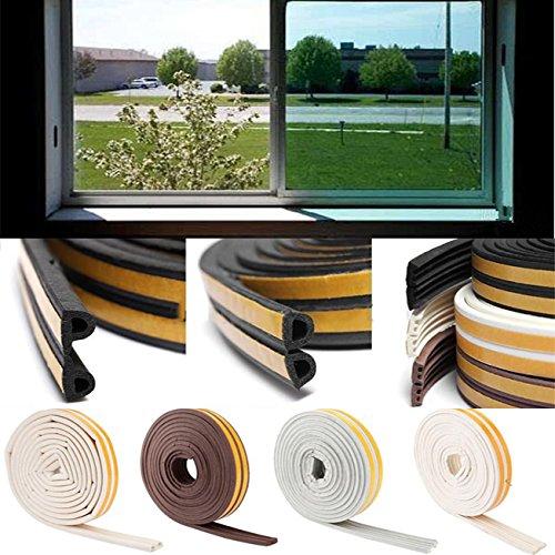Sedeta-5M-Progetto-Schiuma-Autoadesivo-casa-per-porte-e-finestre-Excluder-Seal-Striscia-Weatherstrip-EPDM-PVC-in-silicone-5-metri