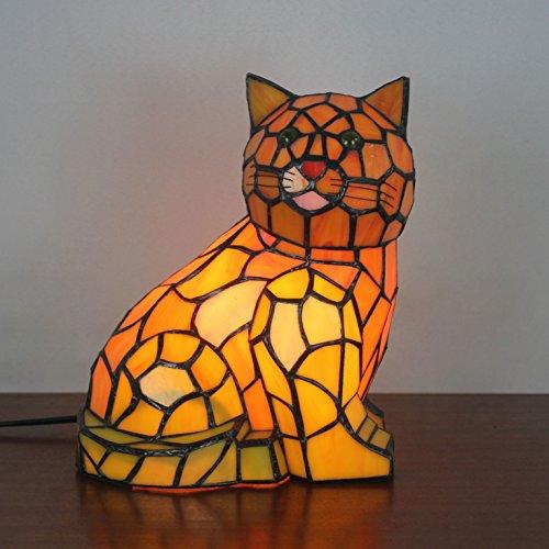 Européen créatif Lampe de table pour chat Lampe pour enfants Lampe de nuit