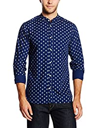 Jack & Jones Premium Jjprfred Mao Shirt L/s Plain, Chemise de Loisirs Homme