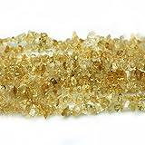 Natur Citrin Perlen Halbedelstein Chips 3-8mm zum auffädeln Approx 80cm Strang