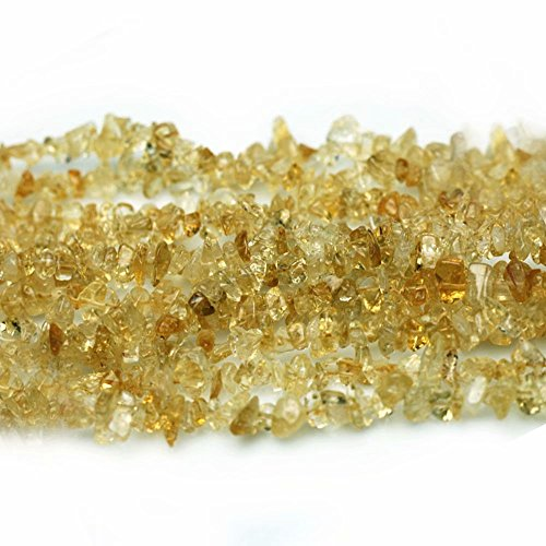 Naturale semipreziose citrino irregolari chips 3-8mm perline per creare di gioielli collane bracciali circa 80cm un filo