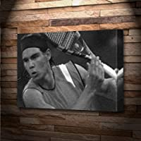 RAFAEL NADAL - Canvas Print (LARGE A3 - Signed by the Artist) #js002