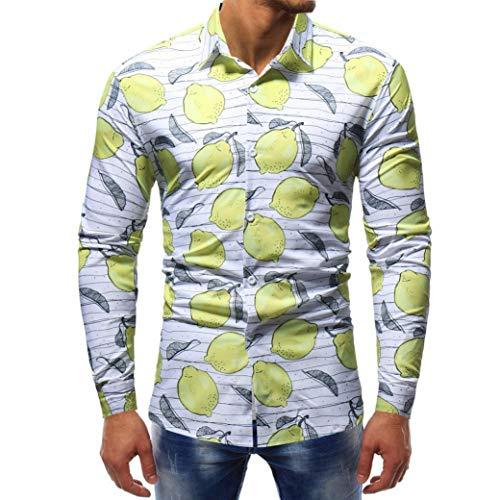Herren CardiganShirt,TWBB Sweatshirt Casual Mehrere Drucke Autumn Winter Shirt Lange Ärmel Männer...