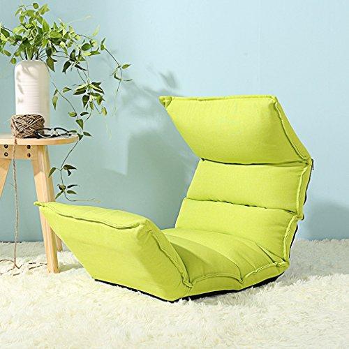 Buona divano chair luna pigro divano letto singolo pieghevole piccolo divano carino camera creativo divano-letto ( colore : fruit green )
