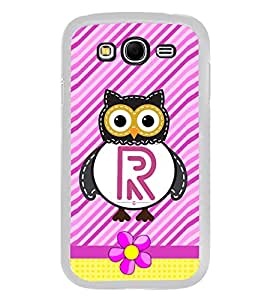 PrintVisa Alphabet R High Gloss Designer Back Case Cover for Samsung Galaxy Grand I9082 :: Samsung Galaxy Grand Z I9082Z