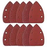 buwant 60piezas ratón hojas de lija Hook & Loop discos surtidos 60/100/150/240/400/600granos)