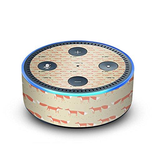 DeinDesign Amazon Echo Dot 2.Generation Folie Skin Sticker aus Vinyl-Folie Tiere Animals Pattern -