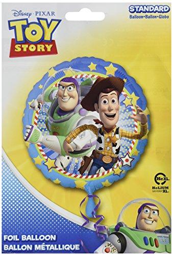 Amscan Standard Größe Folie Woody und Buzz Party Zubehör