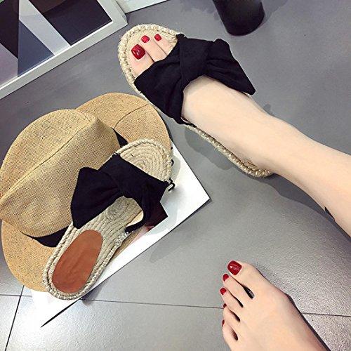 Preto Sapatos Senhoras Respirável Cáqui Transer® Botão Da 40 36 Gr Chinelo Malha Casa Com Azul Grama Pvc Plana FxzrYzqIn