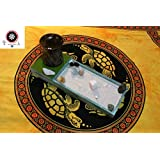 Zen-Garten-Set - Zen Garten - Holz - Teelicht - Räucherstäbchen - Feng Shui - Innerer Frieden - Zen Buddhistische Prinzipien - Yoga-Philosophie - Achtsamkeit