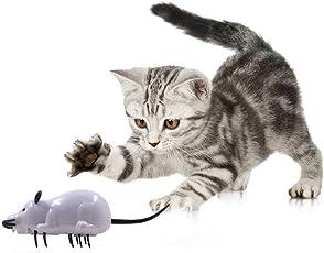 Umiwe Automatische Rotierende Haustier Katze Spielzeug Elektronische Maus Spielzeug Automatische Maus Katze Spielzeug Pet Katzen Spielzeug für Katzen Welpen Hunde Haustiere Kinder Geschenk