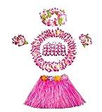 Kinder Leistung Kleid Hawaiian Hula Kleidung Kostüm Set
