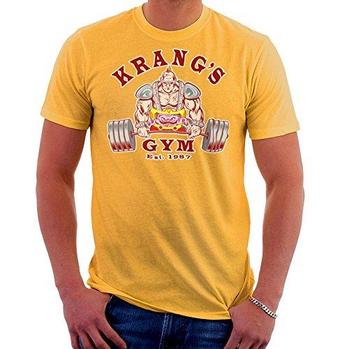 Krang's Gym est 1987 Teenage Mutant Ninja Turtles Men's T-Shirt