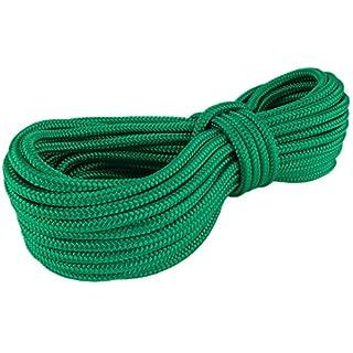 PP Seil Polypropylenseil SH 8mm 10m Farbe Grün (0117) Geflochten