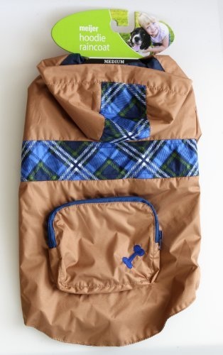 pet-raincoat-in-bronze-color-and-blue-plaid-with-hoodie-in-medium-size