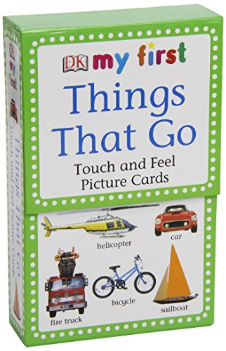 Things That Go (My First Touch and Feel Picture Cards) por Inc. Dorling Kindersley