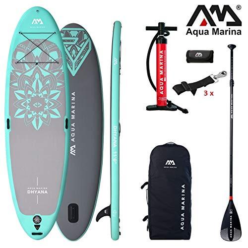 Aqua Marina DHYANA 2019 Yoga SUP Board Inflatable Stand… | 04211058218279