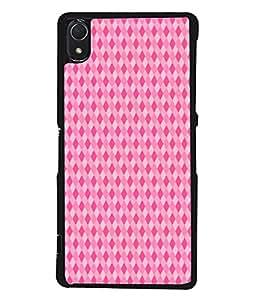 PrintVisa Designer Back Case Cover for Sony Xperia Z3 :: Sony Xperia Z3 Dual D6603 :: Sony Xperia Z3 D6633 (Cute Pink Coloured Diamonds)