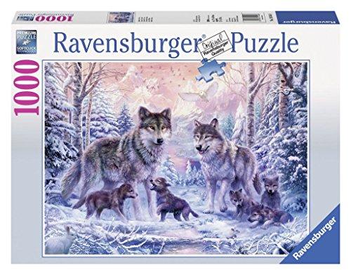 Ravensburger-19146-Arktische-Wlfe Ravensburger Puzzle  19146 – Arktische Wölfe – 1000 Teile -