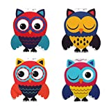 #9: Heartzy Cute Owl Magnetic Bookmark Combo Of 4