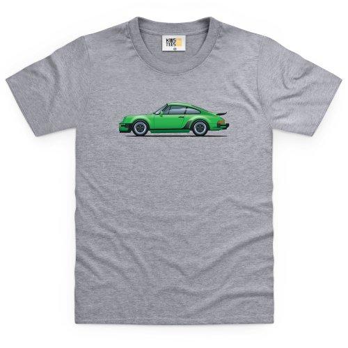 general-tee-nine-eleven-sports-car-kinder-t-shirt-kinder-grau-meliert-s