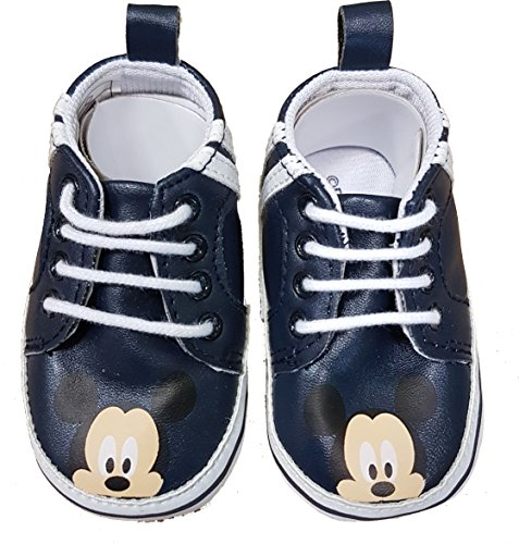 Mickey Mouse - Primeros Pasos de Material Sintético Bebé-Niñas, 18