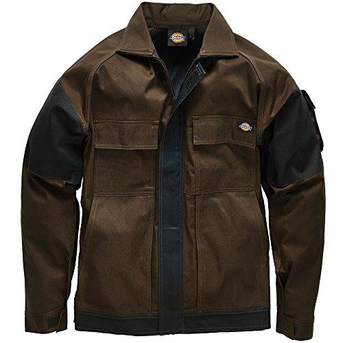 dickies-wd4910-veste-de-travail-homme-marron-marron-noir-large-taille-fabricant-large