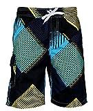 APTRO 2017 Maillot de Bain avec Poche Shorts de Bain/ Plage/Sport Multicolore Boardshorts Confortable Respirable Séchage Rapide Homme