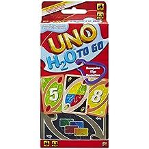 UNO - H20 To Go, juego de mesa (Mattel P1703)