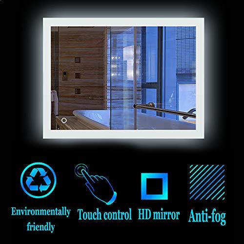 Turefans Increíble Espejo iluminación baño, Interruptor